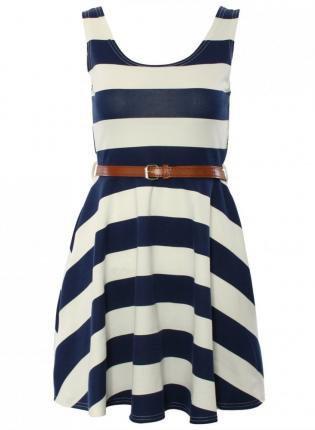 Casual Thin Waist Dress