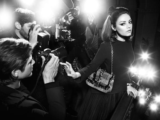 Mila Kunis Miss Dior Fall 2012 Ad Campaign