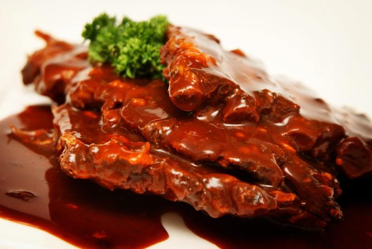 Oriental spare ribs: