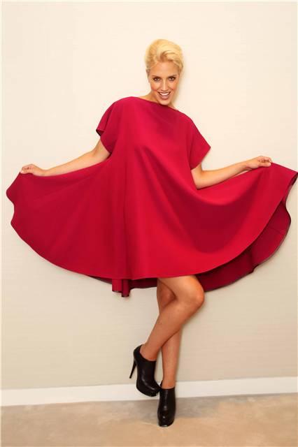 Victoria Beckham Trapeze Dress