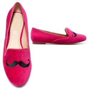 Zara Moustache Slipper Loafer