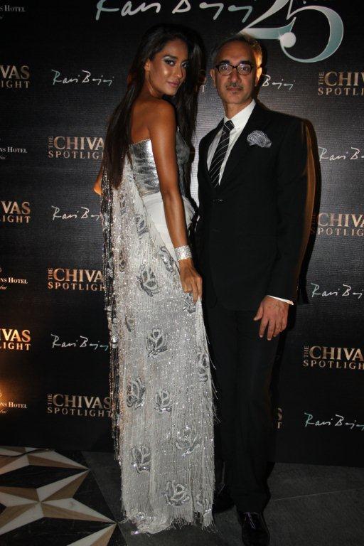 At The CHIVAS Studio Spotlight -  At The CHIVAS Studio Spotlight -  Actress Lisa Hyden & Designer Ravi Bajaj celebrating his 25 years of Fashion