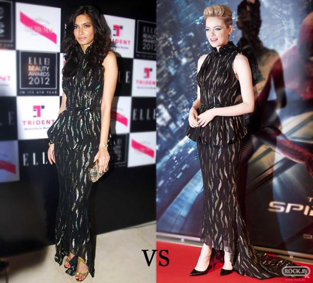 Diana Penty VS Emma Stone