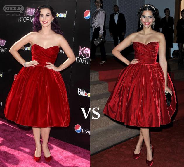 Sonam Kapoor vs Katy Perry