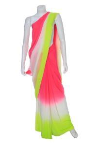 Neon Sari by Anita Dongre