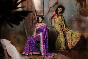 Benarasi saree exclusive designed by Lara Dutta under label Lara Dutta- Chhabra 555