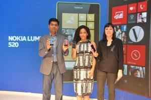 Designer_ Nikki Barton, VP, Smart Devices, UX Design, Nokia at the launch