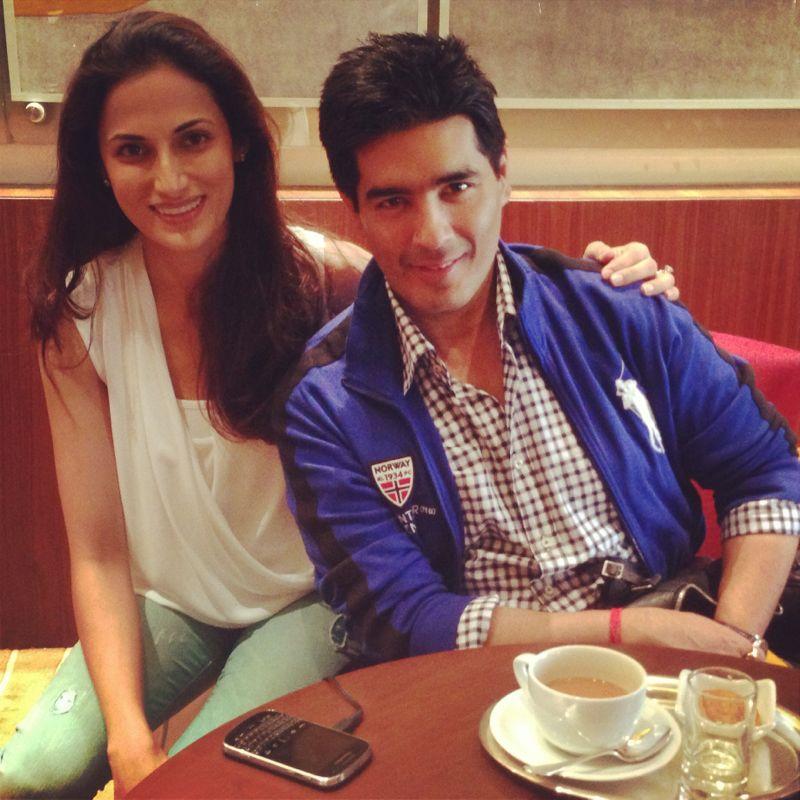Shilpa Reddy and Manish Malhotra