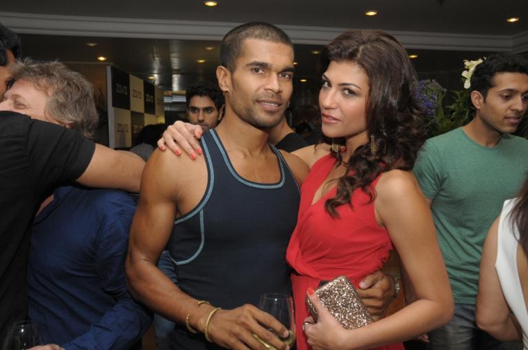 DJ Iggy with Archana Vijaya