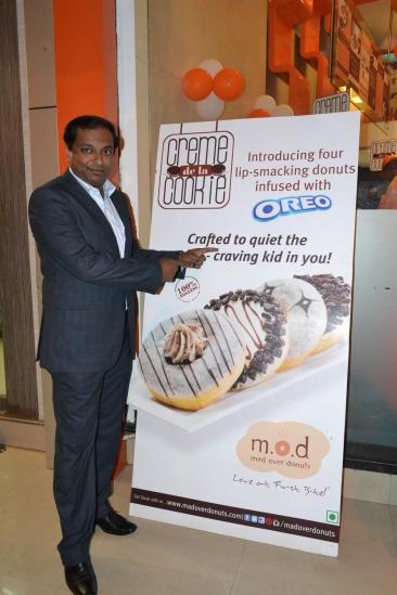 Mr. Tarak Bhattacharya COO Mad Over Donuts