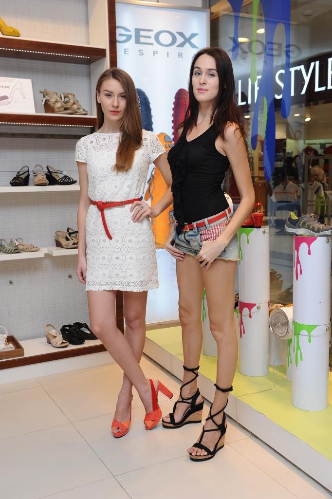 Lisa Mishina and Oxana Gufu