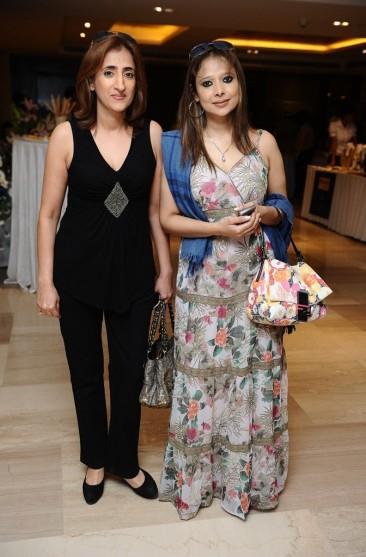 Reena Verma and Sanjana Bhutani