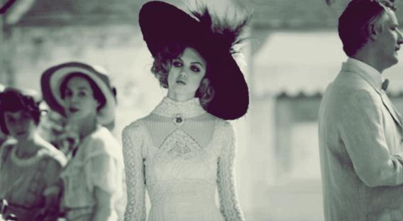 American model Lindsey Wixon as a customer