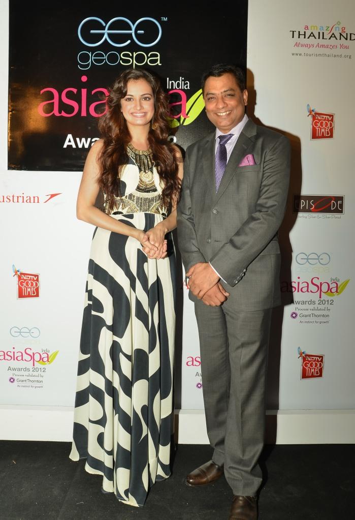 Diya Mirza with Mr. Pankaj Arora