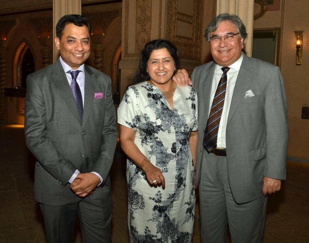 Geo Spa MD, Pankaj Arora with the guests