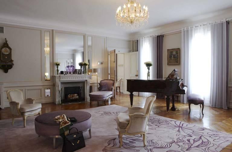 Marlene Dietrich Suite Hotel Lancaster Paris