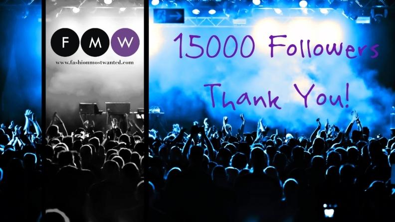 FMW COMPLETES 15000 Followers