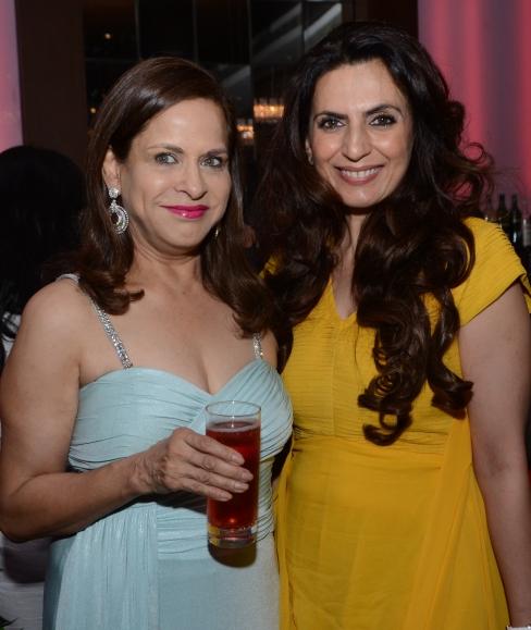 Ramola Bhachan and Seema Puri