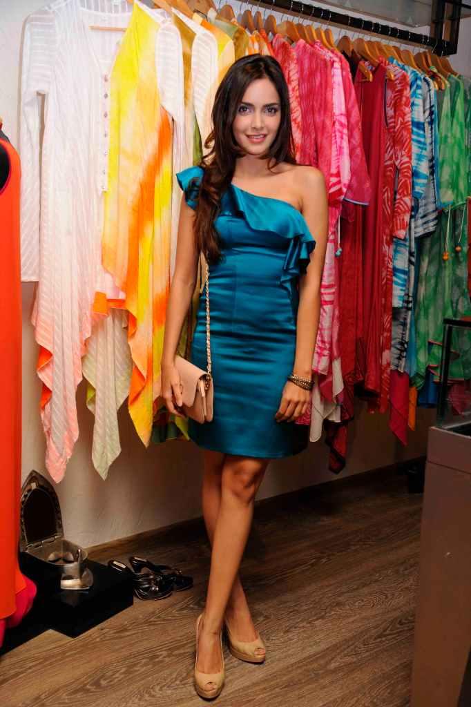 Shazahn Padamsee wearing a design by Sonya Vajifdar