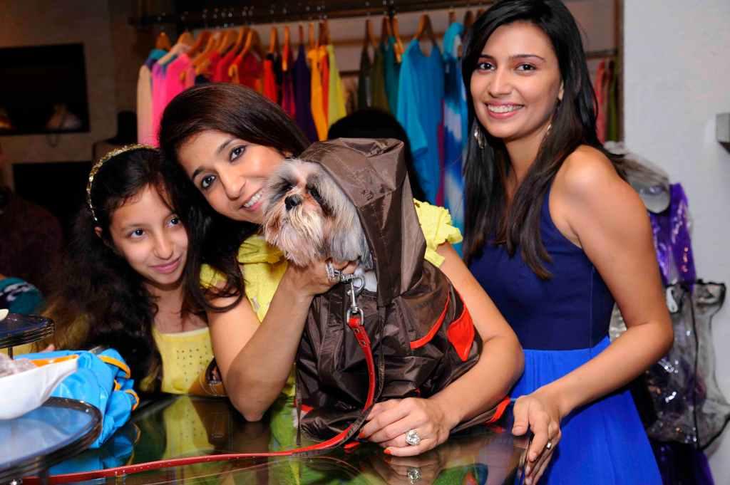 Krishika Lulla with her dog Bonsai