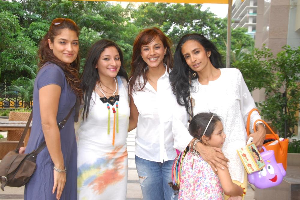 Sandhya Mridul, Anjali Kirpalani, Manasi Scott and Suchitra Pillai