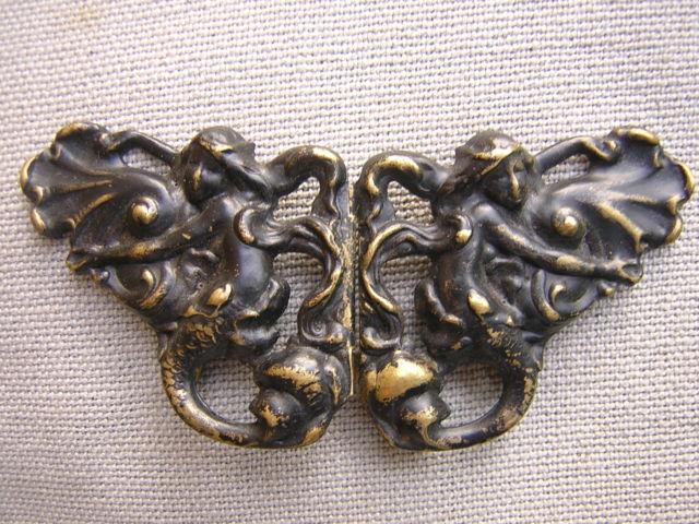 Art Nouveau Belt Buckles