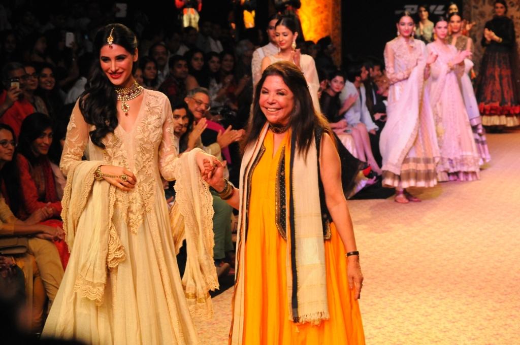 Nargi Fakhri in Ritu Kumar
