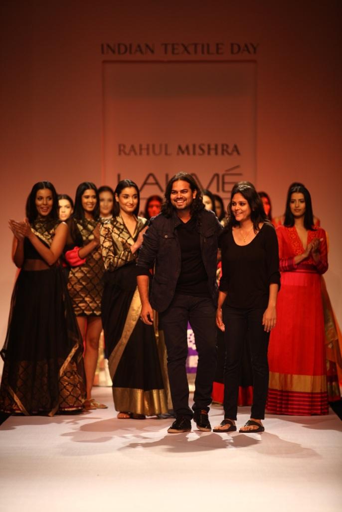 Rahul Mishra at LFW WF 2013
