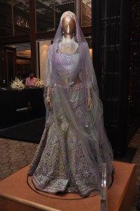 Swrovski Elements spectacular piece by Tarun Tahiliani displayed at the Tarun Tahiliani Couture Exposition, 2013 in Mumbai