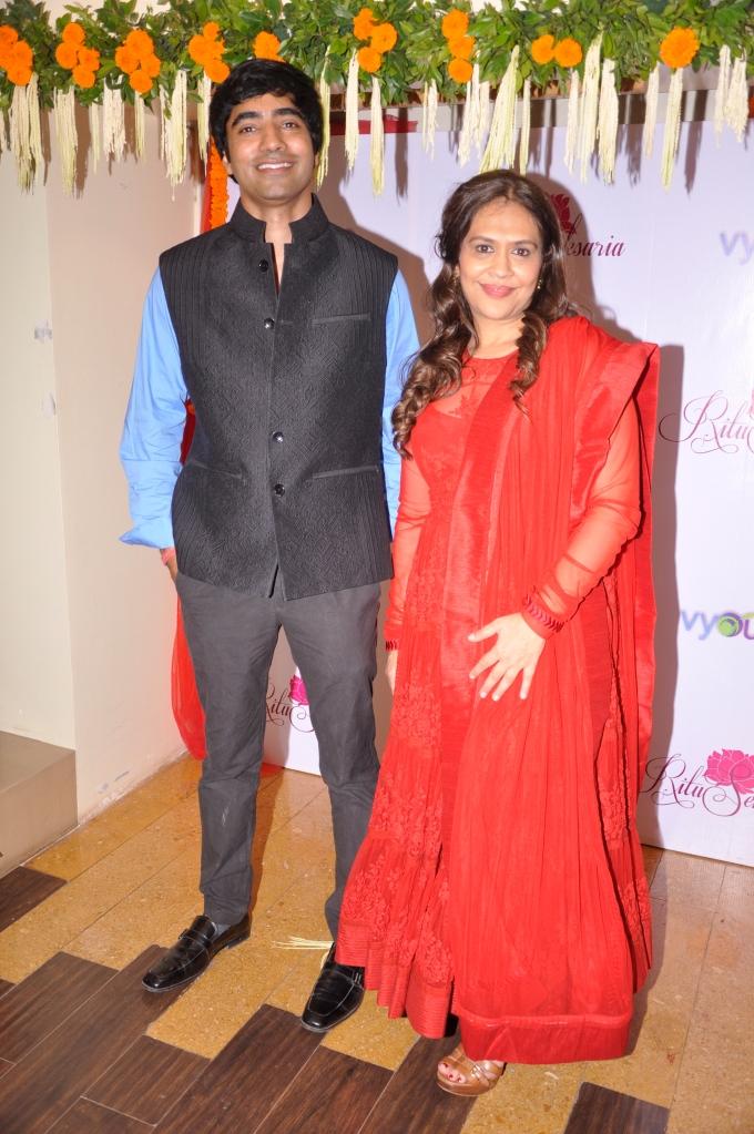 Actor Arfi Lamba and Ritu Seksaria