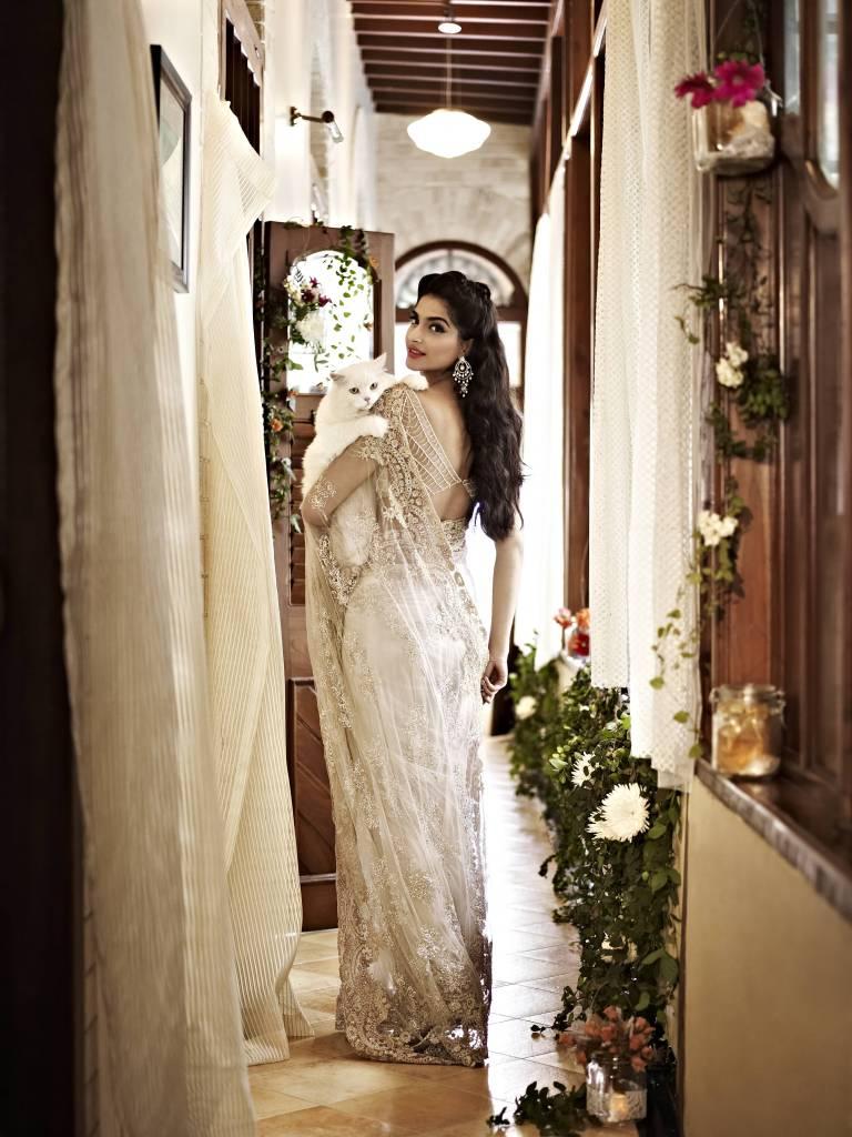 EXCLUSIVE - Sonam Kapoor in Shehlaa by Shehla Khan