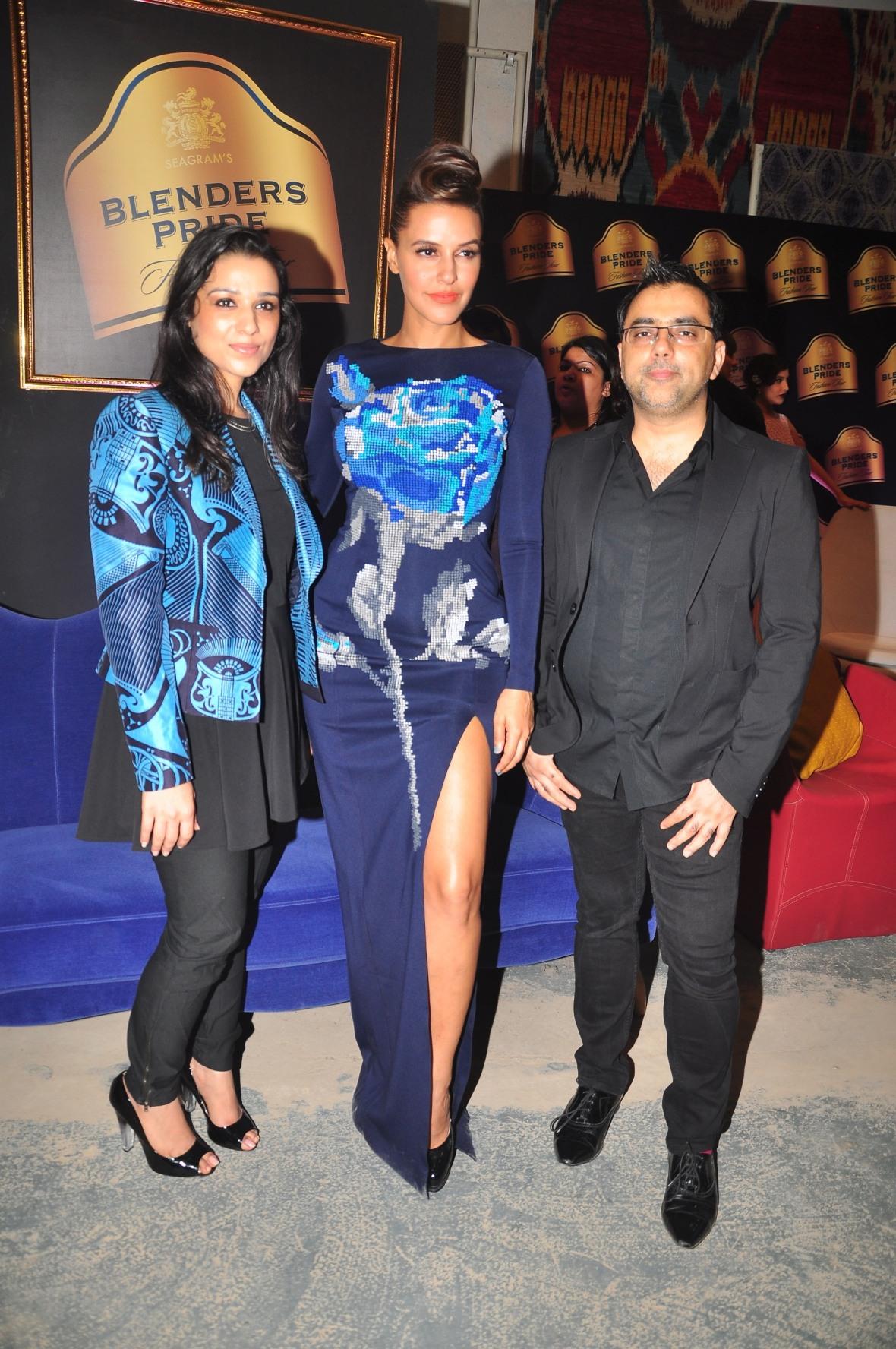 Pankaj & Nidhi with Neha Dhupia