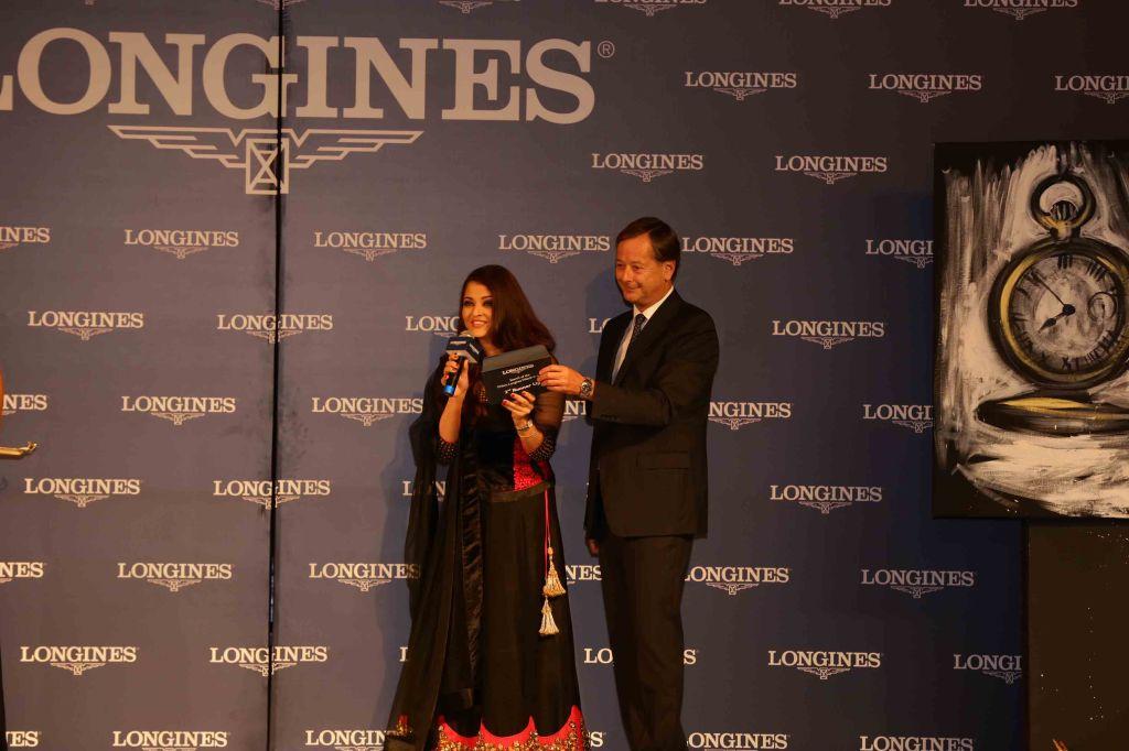 Aishwarya Rai Bachchan and Charles Villoz