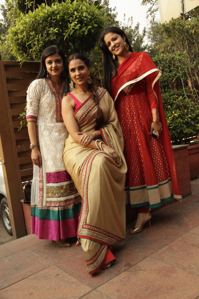 Heena Chhabra, Lara Dutta and Asheeta Chhabra.