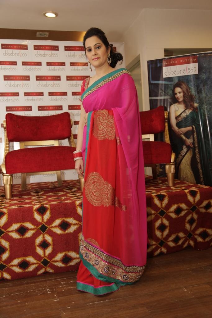 Priyanka Pasrija - Muse of Lara Dutta - Chhabra 555 Collection