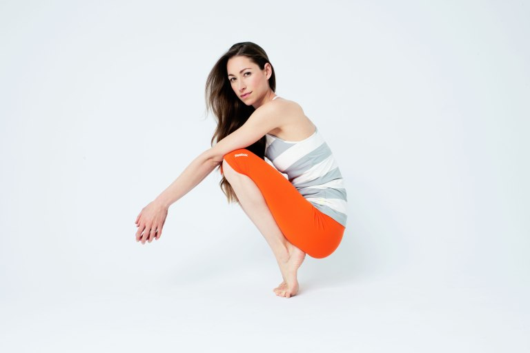 Reebok's Yoga collection with Tara Stiles