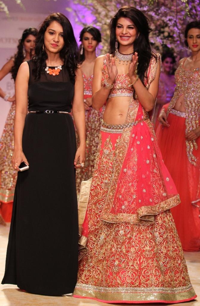 Actress Jacqueline Fernandes and Jyotsna Tiwari