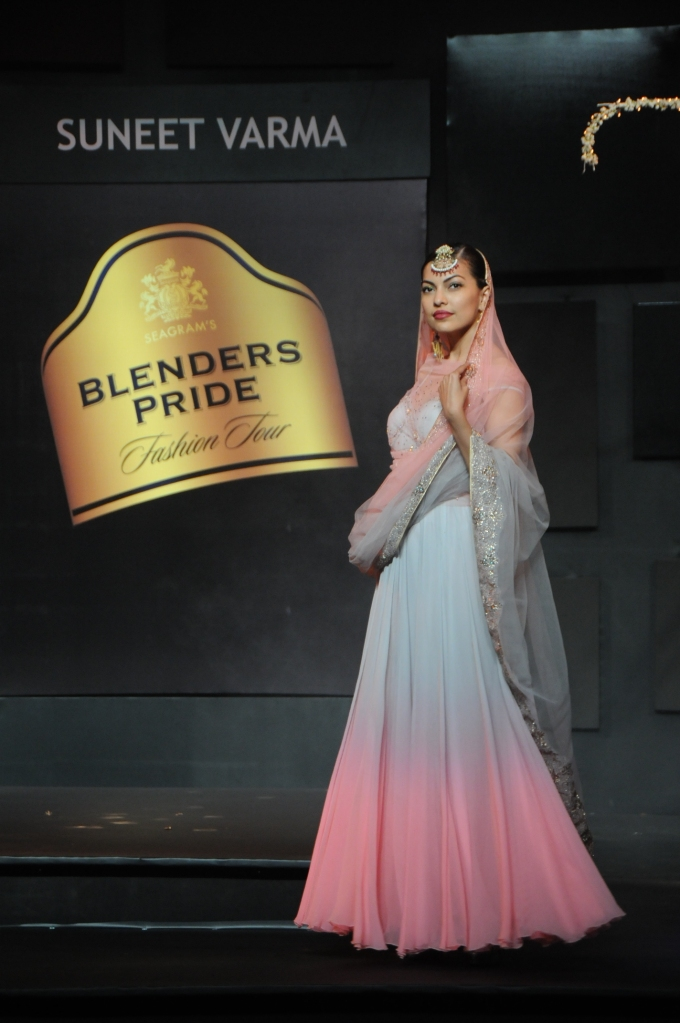 Seen at Blenders Pride Fashion Tour Day - 1- Model in Suneet Varma creation