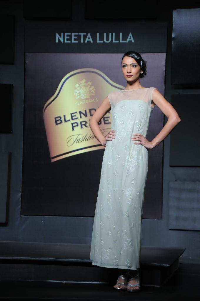 Seen at Blender's Pride Fashion Tour Mumbai - Day 2 - Model in a Neeta Lulla creation (2)