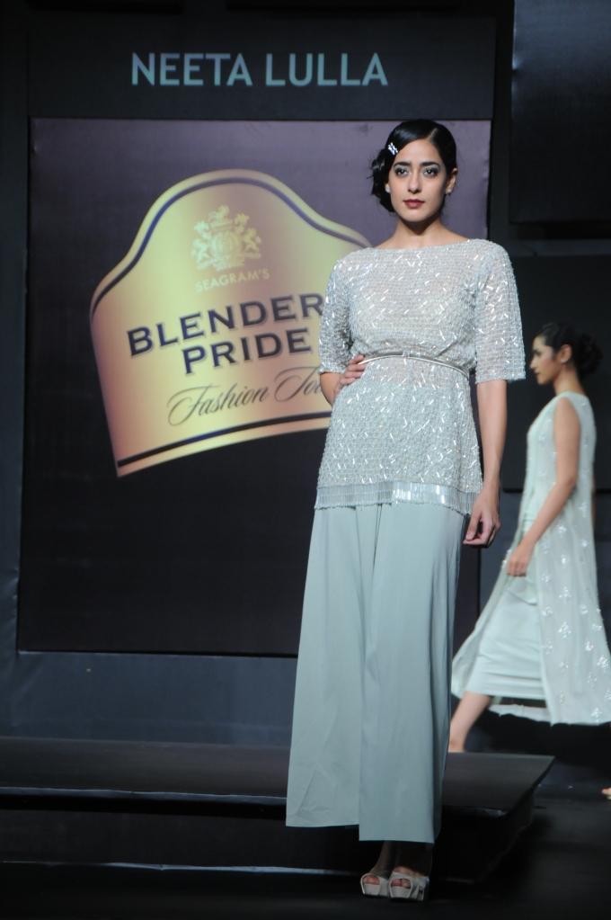 Seen at Blender's Pride Fashion Tour Mumbai - Day 2 - Model in a Neeta Lulla creation (4)