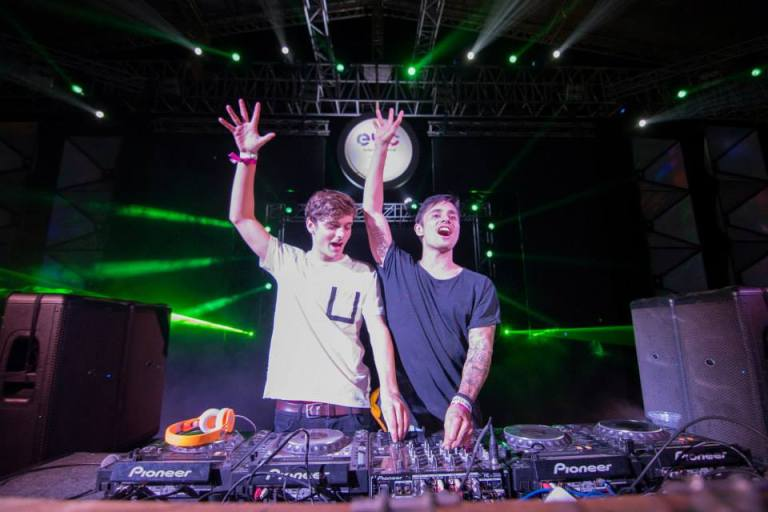 This is Martin Garrix and one half of the Bass Jackers FYI.
