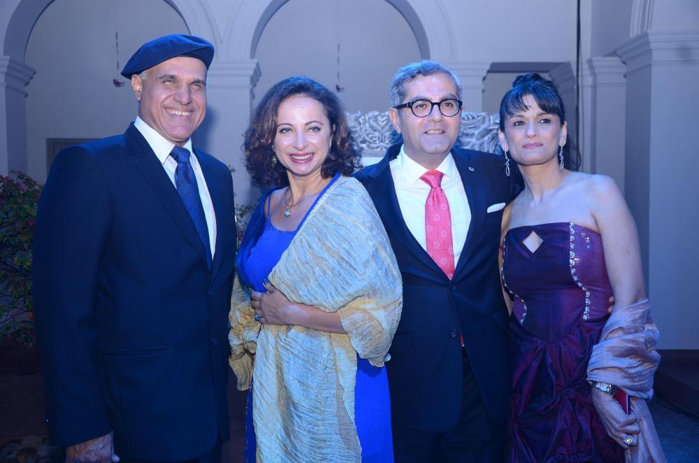 Ashwani Dhawan, Dr. Sebnem K. Akcapar, H.E. Dr. Burak Akcapar and Anu PD