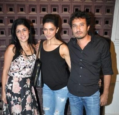 Anaita, Deepika, Homi,