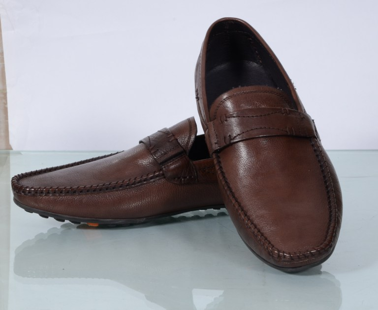 Party Loafers (Brown) at Egle & Louis Alberti