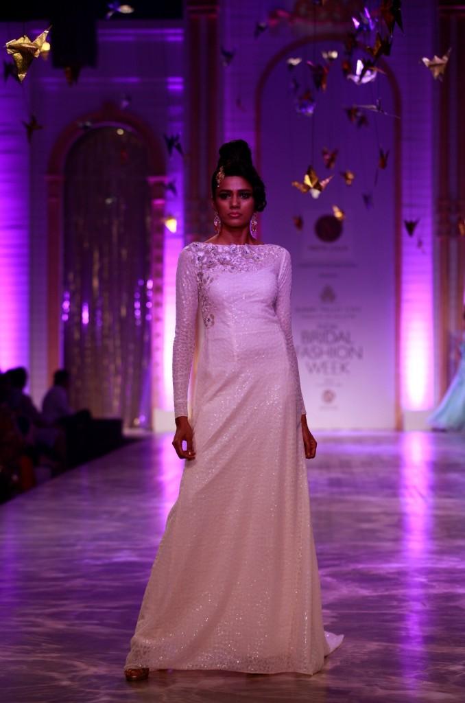 Seen at Aamby Valley India Bridal Fashion Week - Model walking for Neeta Lulla (3)