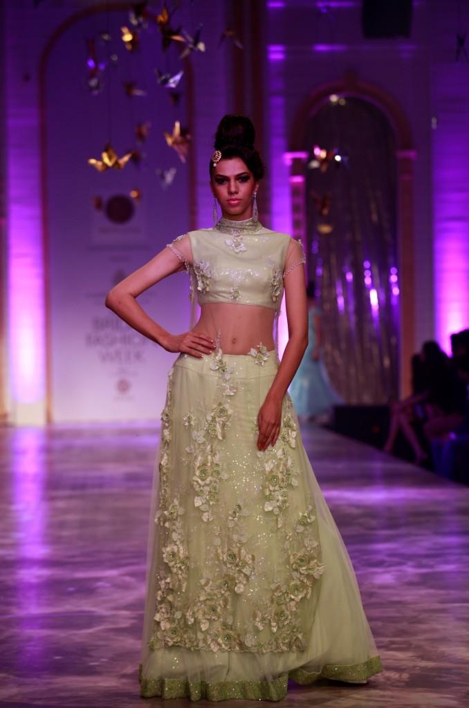 Seen at Aamby Valley India Bridal Fashion Week - Model walking for Neeta Lulla