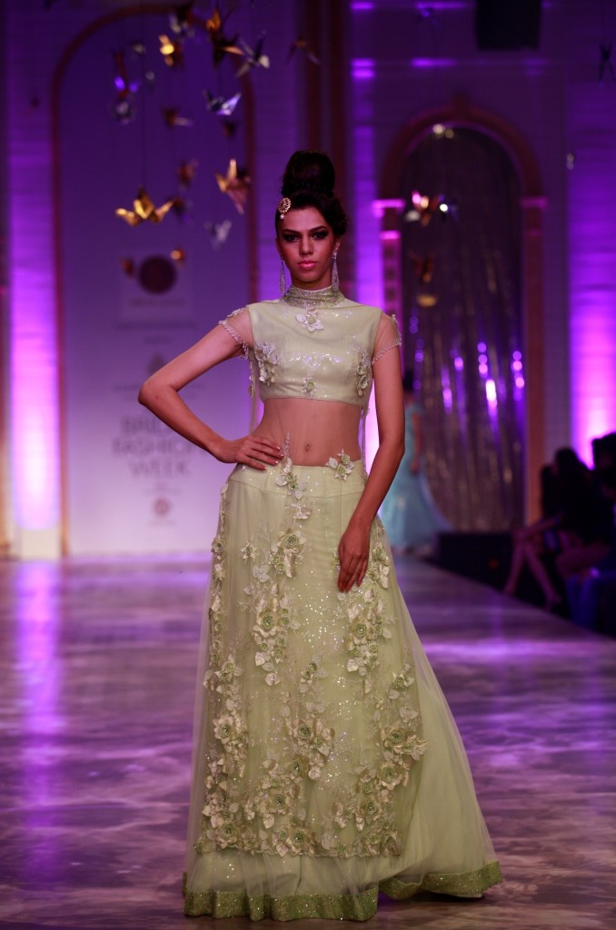Seen at Aamby Valley India Bridal Fashion Week - Model walking for Neeta Lulla