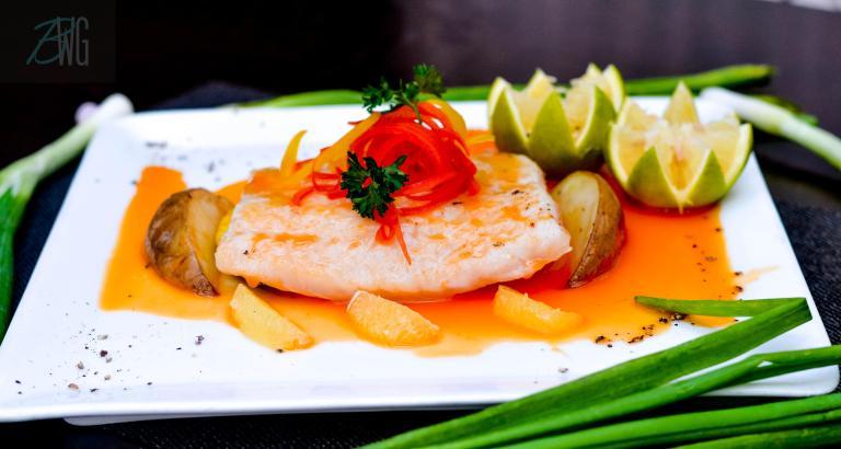 Spicy orange fish