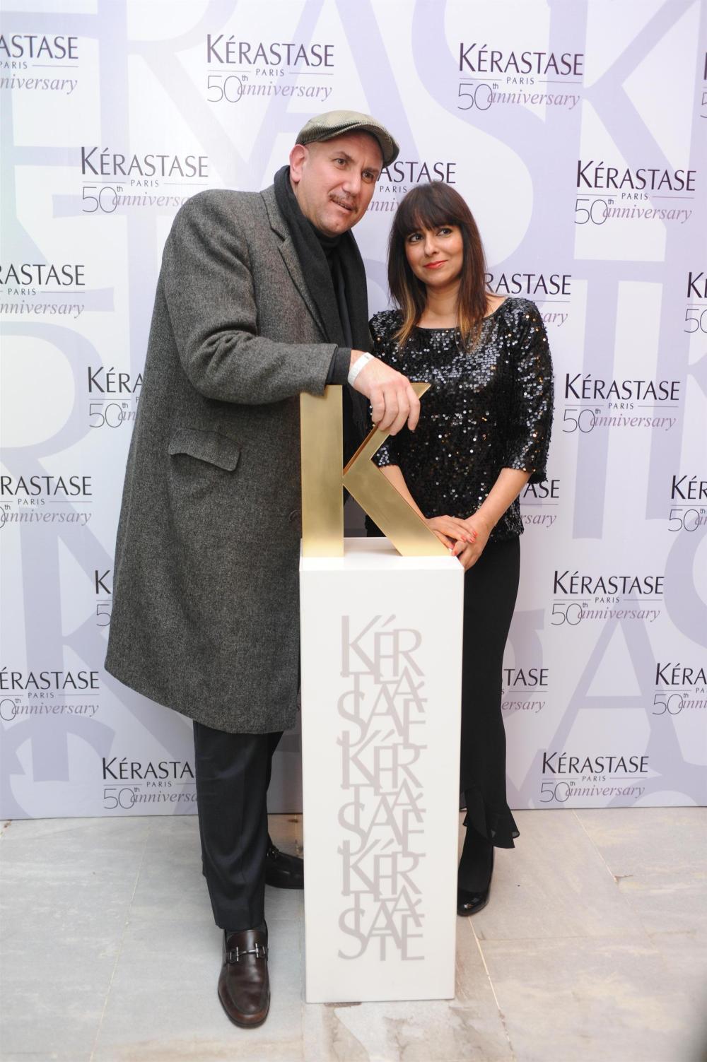 Dimitri ftrom Rossanno Ferretti with Smira Bakshi