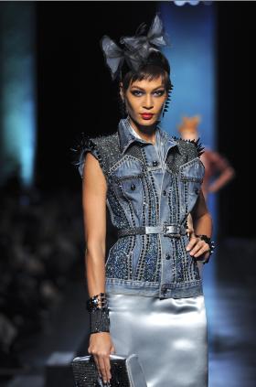 Jean Paul Gaultiers Haute Couture Catwalk Show-Paris